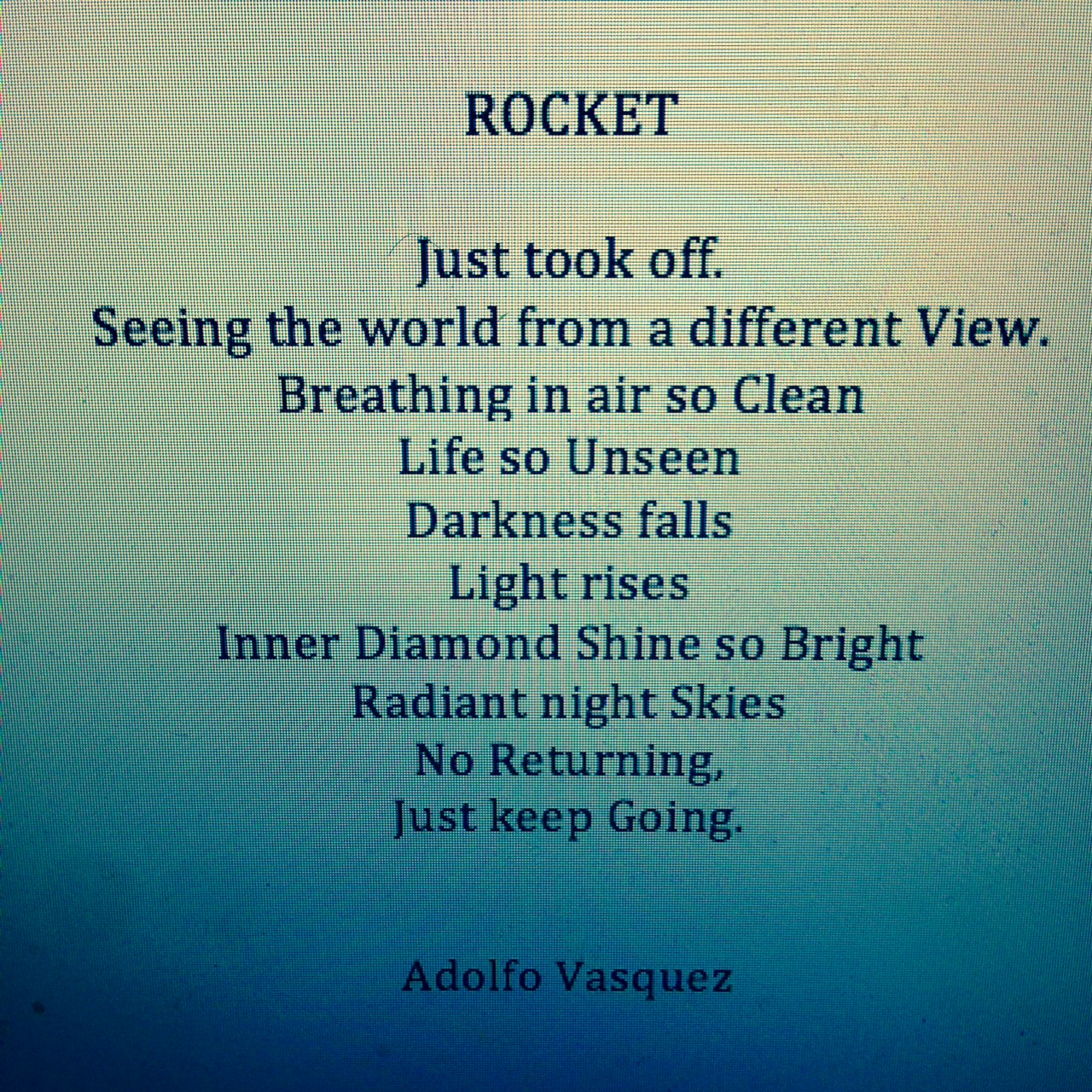 Day 100 Sober Rocket Poem Sober Is The New Black