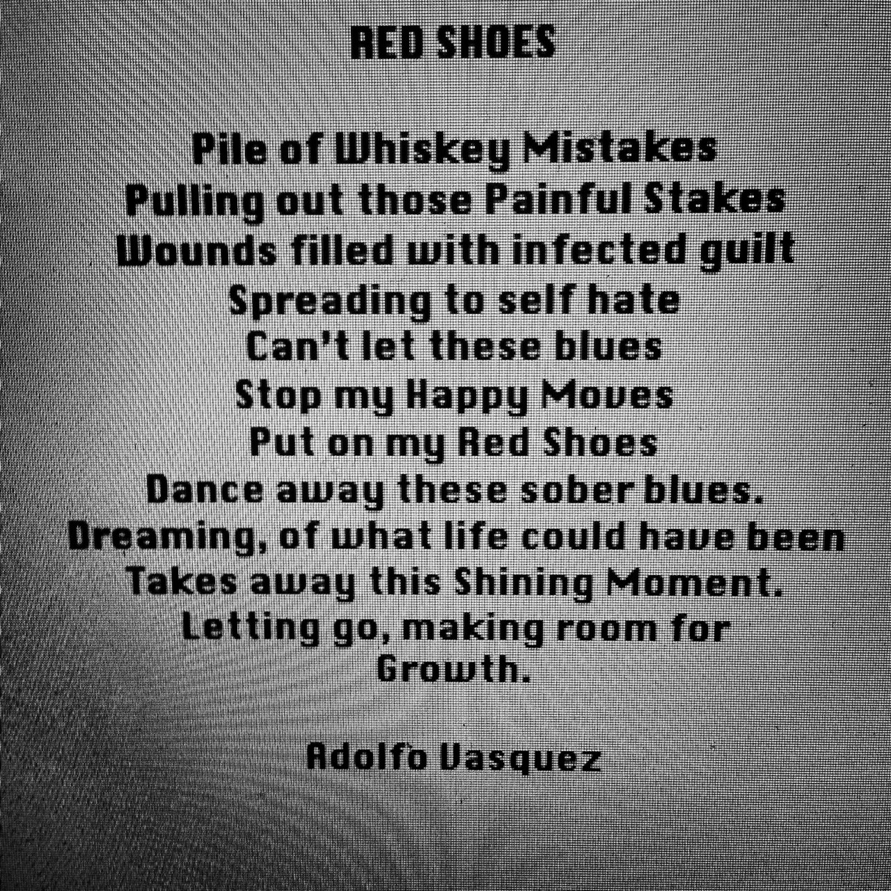 Red Shoes Poem