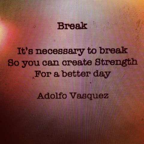 break poem