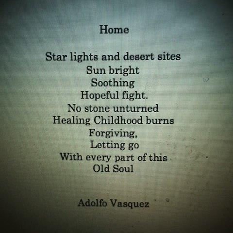 home poem