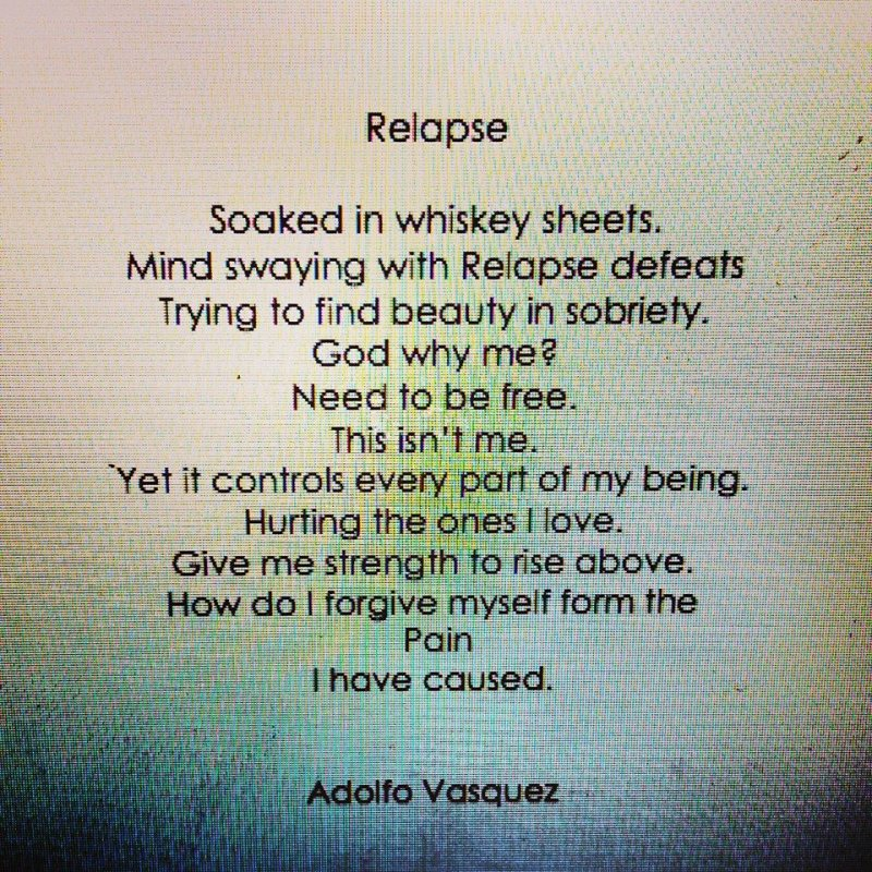 Relapse poem