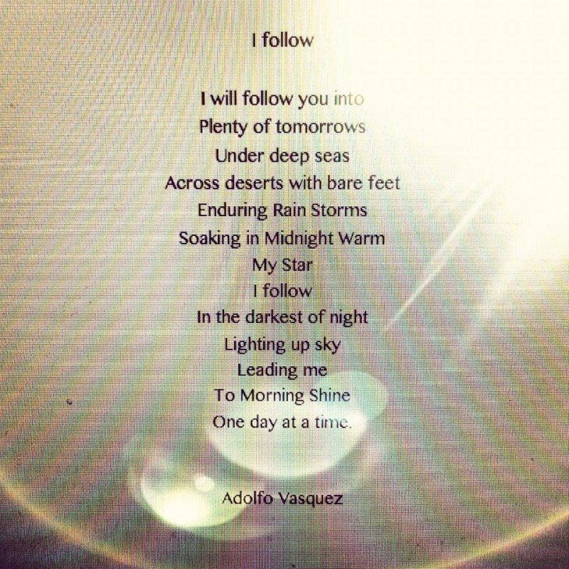 i follow