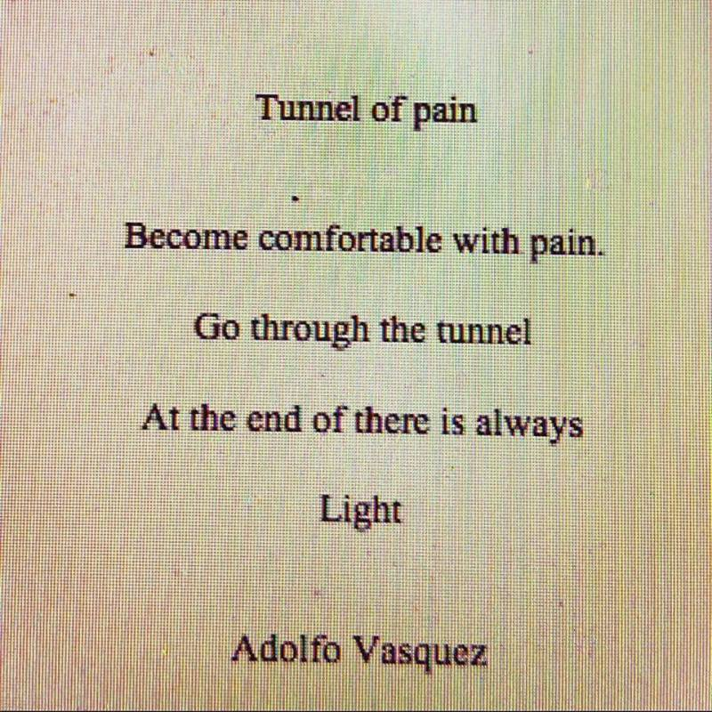 tunnel of pain