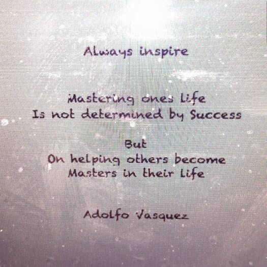 always inspire