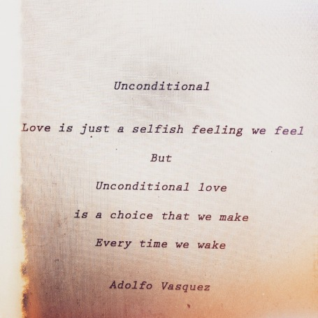 uncondtional love